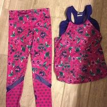 Old Navy by Gap Active Tank & Tights Size M 8 Tank and S 6/7 Tights Photo