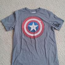 Old Navy Collectabilitees Marvel Captain America Shirt Boys Size Small Photo