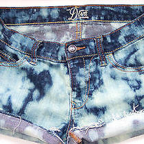 Old Navy Denim Shorts 4 Cut Off Bleached Blue Frayed Holes Boho Grunge Hippie S Photo