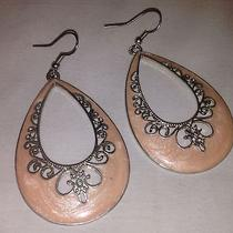 Old Navy Fashion Earrings Pink Great Condition  Photo