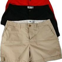 Old Navy & Gap Lot of 3 Womens Shorts Size 8&10 Photo