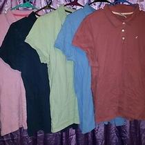 Old Navy Gap Womens Size Xxl Multi Colored Short Sleeve Polo Shirts Lot of 5  Photo