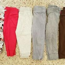 Old Navy Girls Lot of 6 Joggers & Sweatpants Sz Pink Gray Minnie Mouse 18-24m Photo