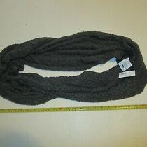 Old Navy Gray Knit Circle Fashion Scarf New With Tag Photo