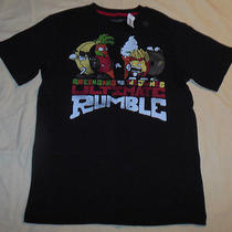 Old Navy Green Gang vs the Junks Ultimate Rumble T Shirt Nwt Xl Juniors - S Mens Photo