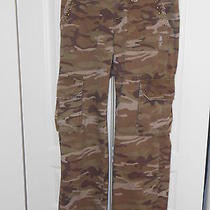 Old Navy Grunge Fatigue Jeans--Size 2 Photo