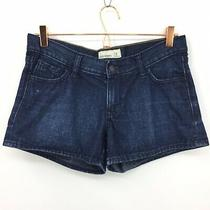 Old Navy Jean Shorts Women's Size 4 Dark Wash Low Rise Booty Short Shorts Photo