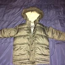Old Navy Kids Hooded Frost Free Winter Jacket Size Xs Gray Photo