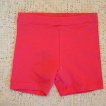 Old Navy Little Girls Bike Shorts Hot Pink Size 3t New Nwt Cotton Blend Everyday Photo
