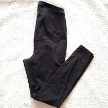 Old Navy Maternity Stevie Ponte-Knit Pants/leggings Full Panel Black Size Medium Photo