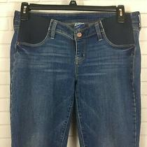Old Navy Maternity Straight Fit Jeans Size 8 Long Photo