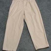 Old Navy Men's Khaki 100% Cotton Dress Pants Slacks Size 34 X 30 Great Shape Photo