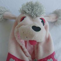 Old Navy Pink Poddle Dog Halloween Fleece Jacket Hood Costume Girls 6-12 Mo. Photo