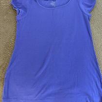 Old Navy Purple Cap Sleeve Shirt Size M Photo