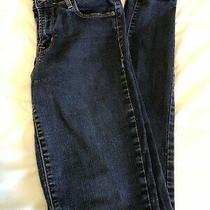 Old Navy Rockstar Women's Jeans Size 4 Tall Mid-Rise Skinny Blue Denim Photo