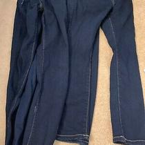 Old Navy Skinny Jeans L 10/12 Adjustable Waist 3 Pairs Lot Photo