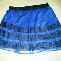 Old Navy Skirt Fancy Dressy Navy Beautiful Plus Size 22 Photo
