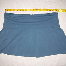 Old Navy Skirt - Stretch - Ultra Low Waist - Aqua Blue - Medium Photo