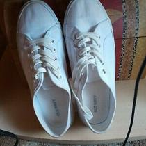 Old Navy Super cute& Comfortable White Clean Sneakers for Happy Feet 10 4.90 Photo