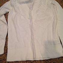 Old Navy White Dress Sweater M Photo