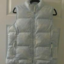 Old Navy Women's Goose Down Vest Size L Photo