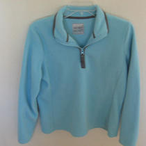 Old Navy Women's Light Aqua Blue Sweatshirt  Sz M Photo