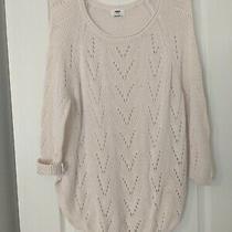 Old Navy Women's Lightweight Blush Knit Sweater Tunic Size M Photo