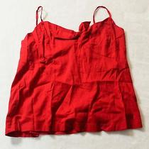 Old Navy Women's Sleeveless Knot Front Cami Top Sv3 Red Size Xl Nwt Photo