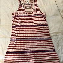 Old Navy Women's Xs Red White and Blue Racer Back Tank Top - Nwt Photo