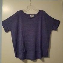 Old Navy Womens Blue Short Sleeve Shirt Size Extra Small Mint.. Photo