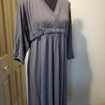 Old Navy Womens or Maternity Dark Gray Dress - Rayon & Spandex Xl  Photo