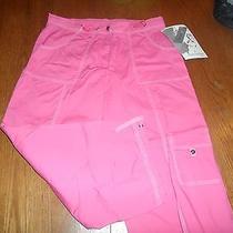 Oleg Cassini Sports Women's Capri's Pink Blush Size M - Nwt Photo
