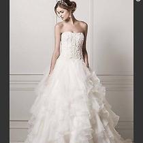 Oleg Cassini Wedding Dress and Veil by Vera Wang Photo