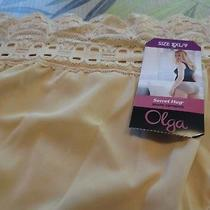 Olga Secret Hug Size 9/xxl Hipster Panties Lace Waist Band  Style 913 One Blush Photo