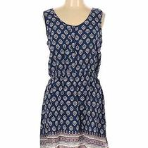 Olive and Oak Women Blue Casual Dress L Photo