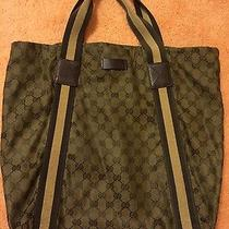 Olive Green Gucci Tote Photo