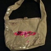 Olive Green Tattoo Paint Splatter Handbag Photo