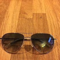 Oliver Peoples Benedict Sunglasses 59 Chrome Photochromatic / Pre-Owned Photo