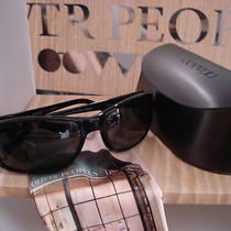 Oliver Peoples Brion Sunglasses Midnight Express Polarized Black Plastic Frame Photo