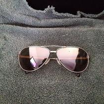 Oliver Peoples Copter Silver Frame With Sand Quartz Mirror Polarized Lenses Photo