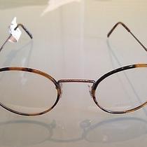 Oliver Peoples Ellerman Round Fashion Glasses Antique Gold Photo