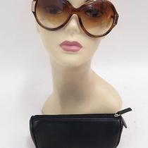 Oliver Peoples Harlot Oversized Sunglasses Sycamore Gently Worn Photo