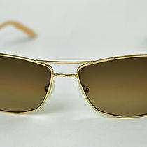Oliver Peoples  Mosley Tribes Aviatrix  Gold / Chrome Amber Photochromic Photo