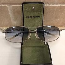 Oliver Peoples Nitro 61 Sunglasses Photochromic Blue.  Like New Photo