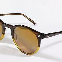 Oliver Peoples o'malley Bhb2 Limited Edition Rosa Quartz Gradient Mineral Glass Photo