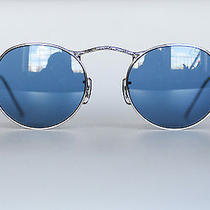 Oliver Peoples Op M-4 Ov1138s Round Silver Blue Vintage Glasses Brand New Photo