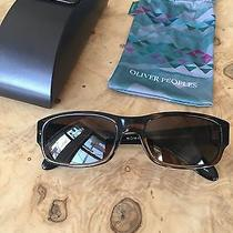 Oliver Peoples Primo 8108 Sunglasses Vfx Dark Brown Worn Once Polarized 18-135 Photo