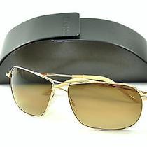 Oliver Peoples Sunglasses Frrell 62 Gold/chrome Amber Photochromic Photo