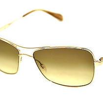 Oliver Peoples Sunglasses Sanford  Gold/chrome Olive Photochromic Photo