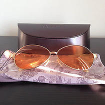 Oliver Peoples Sunset 1990's Aviator Sunglasses(fight Club Sunglasses) Photo